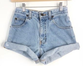 Vintage Denim High Waisted Shorts, High Waisted Shorts, high waist, All Sizes, ALL BRANDS, Levis, Guess, Lee, Wrangler, CK, Rustler