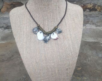 Kitten's Paw shell necklace