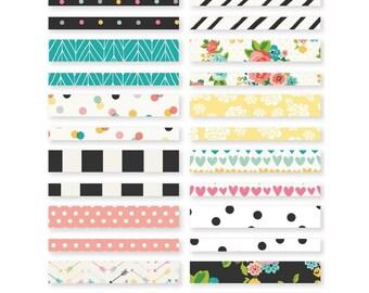 Simple Stories Carpe Diem Washi Paper Tape