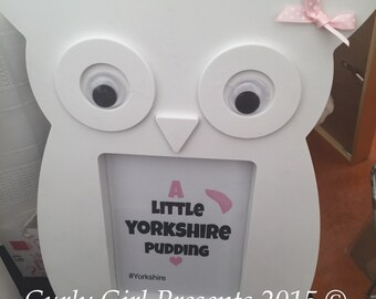 New Baby Gift Baby Shower Present Owl Yorkshire Pudding
