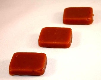 Caramel Sampler with 6 Different Flavors of Caramels (6 of each flavor)
