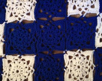 King crocheted blanket