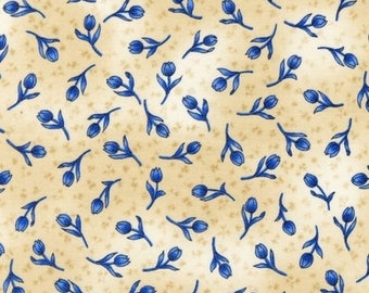 Novelty Cotton Fabric Robert Kaufman Tulip  - SUPER SALE