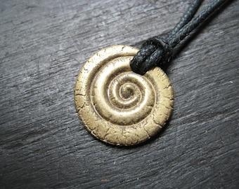 Small Brass Spiral