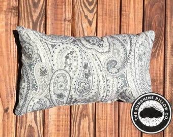 Paisley Throw Pillow - Small