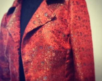 Natural silk jacket/blazer of silk