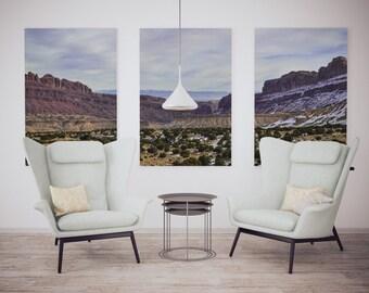 Utah, I-70, Mountains, Landscape Photography, Printable Artwork, Home Decor