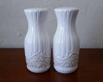Vintage Salt And Pepper Shakers, Signature, Lourdes, Salt And Pepper Shakers.