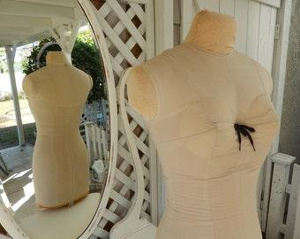 Antique Mannequin - Display Mannequin - Vintage Dress Form - Sewing Mannequin - Taylors Dress Form - Singer Mannequin