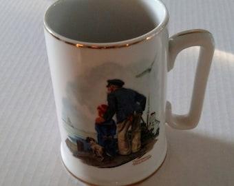 Mugs, Norman Rockwell