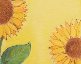 classy R us Handmade Spring Flowers Oil Painting on Canvas Original Artwork