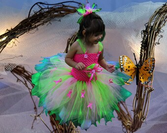 Brilliantly Vivid Awareness Tutu Dress