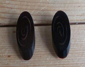 Vintage 14kt Gold Post Earrings
