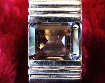 Golden Topaz in Sterling Silver