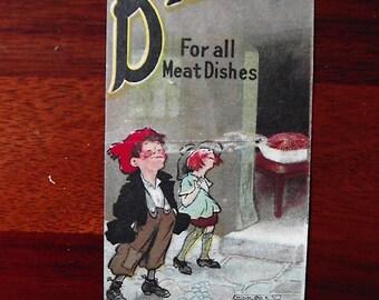 Original advertisment for Bisto gravy.