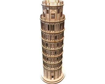 Leaning Tower of Pisa Model Assembled