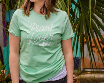 Plant Lover Women's Boyfriend Tee