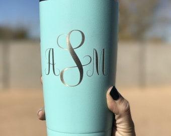 Coffee Mug: Wedding, Monogram, bride, bridal, bridesmaid, mom, sister, aunt, gift, present, coffee, coffee lover, tumbler, cup, baby, kids