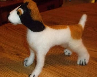 Needle Felted Smooth Fox Terrier