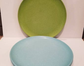 3 Vintage Melmac Dinner Plates