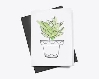 Cereus Greetings Card