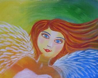Belinda - Folk Art Angel
