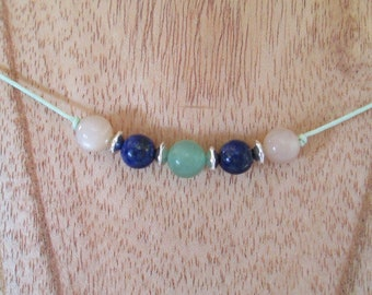Let's Get Along Gemstone Necklace