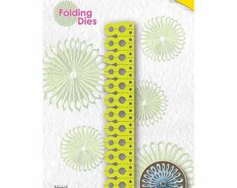 Die folding paper rosette 12 x 2 cm_NFD008