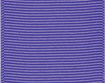 """3"""" PERIWINKLE / Delphinium GROSGRAIN  Ribbon -100% Polyester   - Made in USA - 3 inch width - Ribbon for Cheer Bows"""