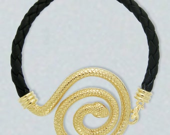 Spiral Snake Bracelet