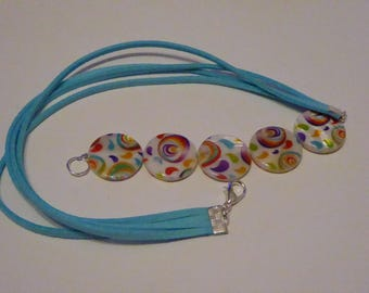 the colors of summer bracelet