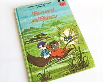 Disney children's book, Bernard et Bianca, Story book, Children's book, Vintage book, Disney classic, Book