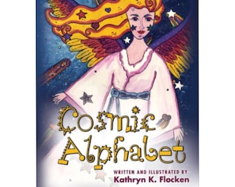 Cosmic Alphabet. Illustrated Children's Book