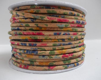Natural Flowers Portuguese,Cork Cord 3mm(1 Meter)