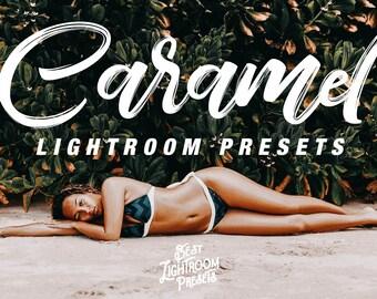 Caramel, Lightroom Presets, modern golden warm, lightroom editing, bright preset, warm blonde hair color, lightroom presets blogger