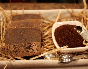 Coffee Bean & Cream - Goat's Milk Soap