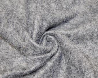 """Abby HEATHER GREY 72"""" Acrylic Felt Fabric by the Yard - 10030"""