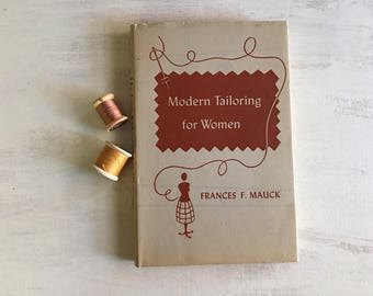 Vintage 1953 Modern Tailoring for Women Book