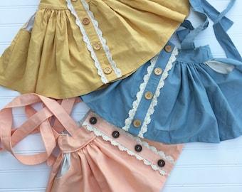 Augustine Suspender Skirt