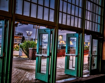 Tillie Through the Doors- Photography Print, Pictures, Wall Art