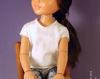 Easiest Doll T Shirt Ever pattern, BFC Ink, Disney Princess and me and  slim 18 inch dolls