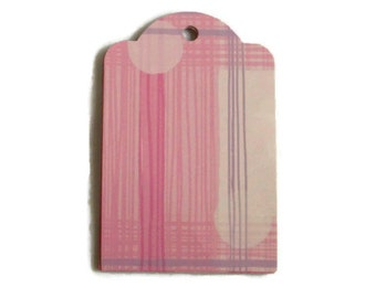 Unique Pink Gift Tags ...Set of 5