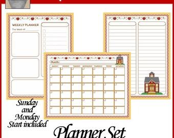 School Daze Planner Set