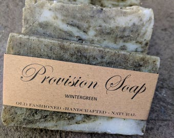 Handmade Wintergreen Soap