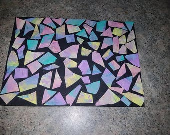 Whimsical mosaic