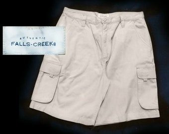 Size 34 shorts men, vintage cotton shorts men -vintage cargo shorts men ,men's cotton shorts, casual short men ,men's beige shorts,   # 51
