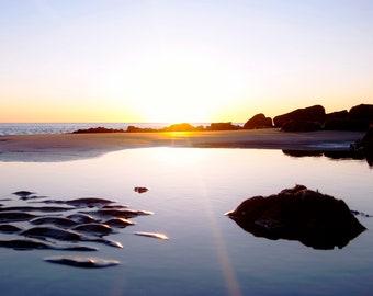 Tide Pool Sunrise {ii}