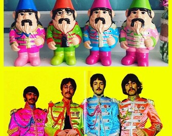 The Beatles gnome set