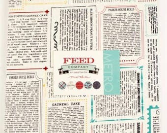 Feed Company Layer Cake - Out of Print - Hard to Find - Sweetwater Fabrics - Moda Precuts - IN STOCK