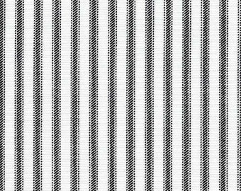 For Caroline PADDED Ironing Board Cover for a table that is 24 in wide by 48 in. long (2 ft X 4 ft). black/white ticking print, see photo
